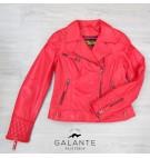 Cazadora Biker SANDE Rojo